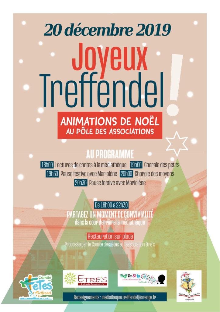 Affiche Animation de NOEL 2019 Treffendel